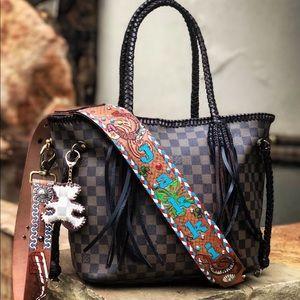 Handbags - Custom Louis Vuitton Purse / Luggage Strap
